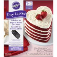 Wilton Easy Layers bakpannen hart 15 cm set/5 - Wilton, fig. 2