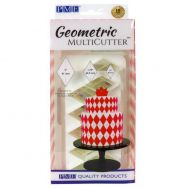 Geometrie uitstekers diamant/ruit XL set/3 - PME, fig. 1