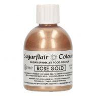 Sugar sprinkles rose goud- 100gr - Sugarflair, fig. 2