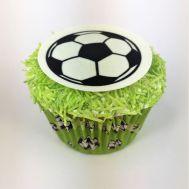 Traktatiepakket - Voetbal cupcakes, fig. 1
