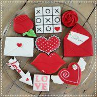 Zat 02/02/2019 | Gastworkshop van Roos Bakt Basis Koekjes versieren met Royal Icing - Valentijn, fig. 2