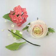 Wilton Cursus | 'More Wired Flowers/Bloemen op draad' | 2 avonden (start di 15/01/2019), fig. 2