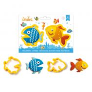 Vissen uitstekers set/2 - Decora, fig. 2
