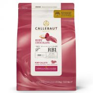 Chocolade callets ruby 2,5 kg - Callebaut, fig. 1