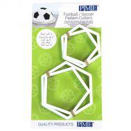 Voetbal vlakken uitsteker set groot en klein - PME, fig. 1
