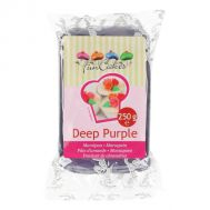 Marsepein paars 1:4 (deep purple) 250 gr - FunCakes, fig. 1