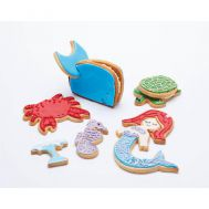 Cookie cutter set diep in de zee 3D, fig. 1