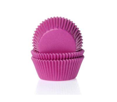 Effen roze - baking cups (50 st), fig. 1