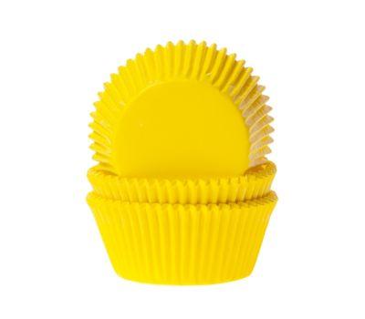 Effen geel - baking cups (50 st), fig. 1
