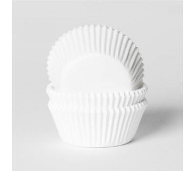 Effen wit - baking cups (50 st), fig. 1