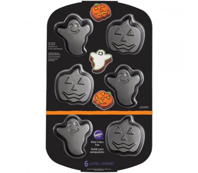 Mini cake pan - pompoen & spook - Wilton, fig. 2