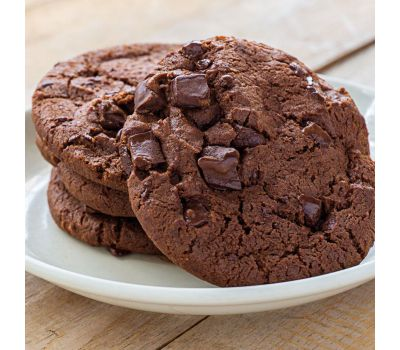 Mix voor double choco chip cookies 400 gr - Funcakes, fig. 2