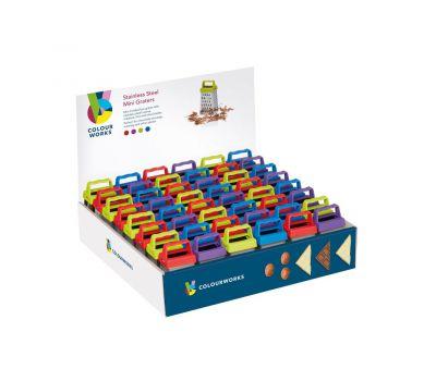 Mini rasp met 4 kanten - Colourworks, fig. 1