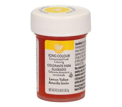 Kleurgel citroengeel (lemon yellow) kleurstof 28 gr - Wilton, fig. 1