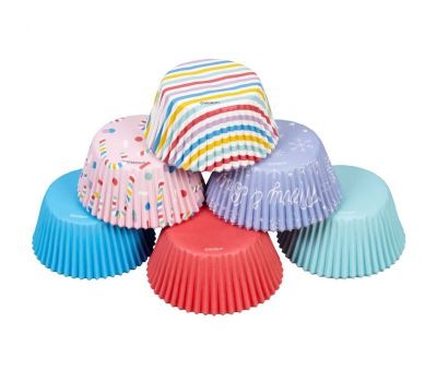 Kerstmix pastel - baking cups (150 st), fig. 1