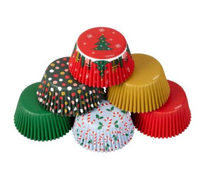 Kerstmix traditioneel baking cups (150 st.) - Wilton, fig. 2