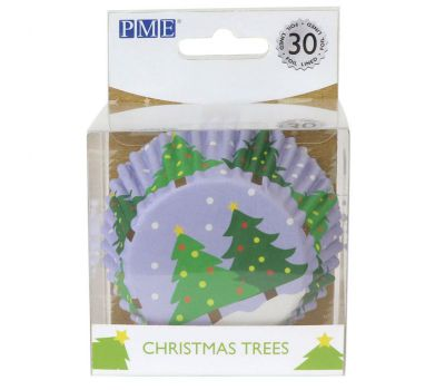 Kerstboom baking cups (30 st.) - PME, fig. 1