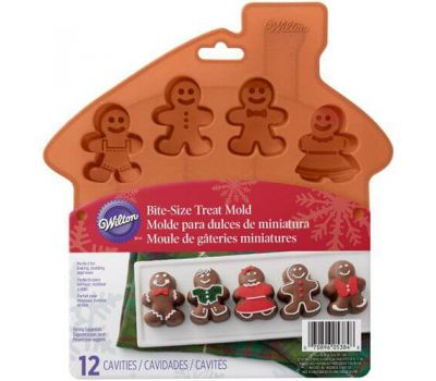 Siliconen mold gingerbread - Wilton, fig. 1