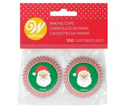 Kerstman mini baking cups (100 st.) - Wilton, fig. 1