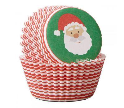 Kerstman mini baking cups (100 st.) - Wilton, fig. 2