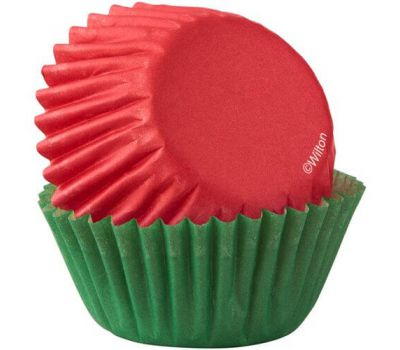 Rood & groen mini baking cups (100 st.) - Wilton, fig. 2