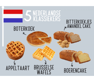 '5 Nederlandse klassiekers' - bakmixenpakket, fig. 1