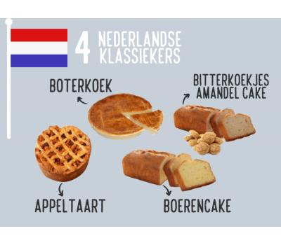 '4 Nederlandse klassiekers' - bakmixenpakket, fig. 1