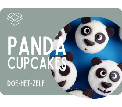 Panda cupcakes pakket, fig. 1