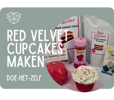 Red Velvet cupcakes - pakket, fig. 9