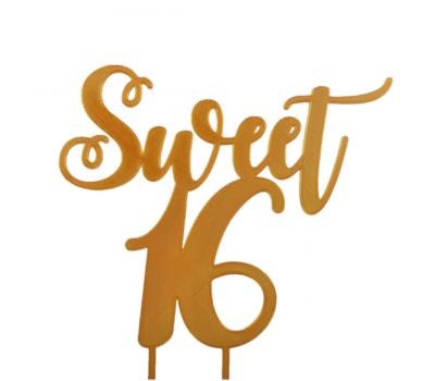 Taarttopper - Sweet 16 Sierlijk, fig. 4