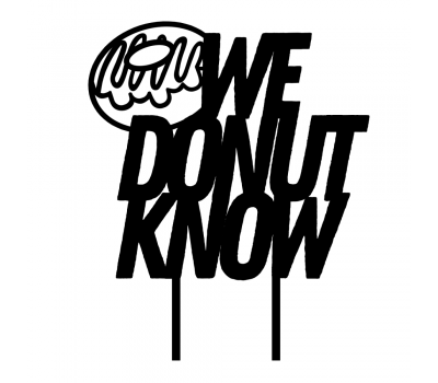 Taarttopper - We donut know, fig. 2