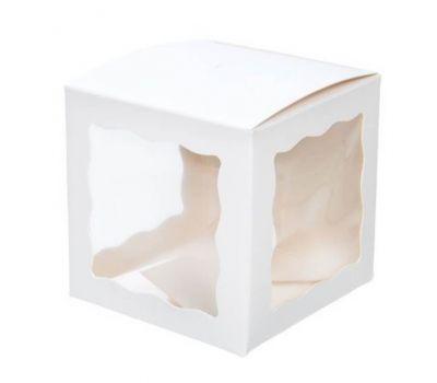 Cakepop/choco bomb doosje wit set/5, fig. 1