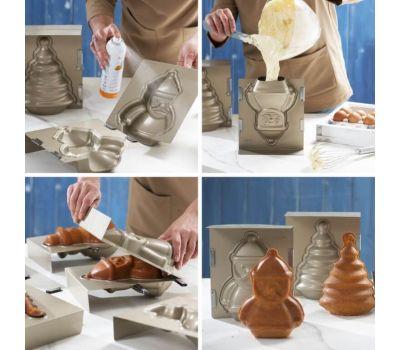 3D kerstman bakvorm - Decora, fig. 4