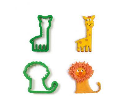 Giraf & leeuw uitsteker set/2 - Decora, fig. 2