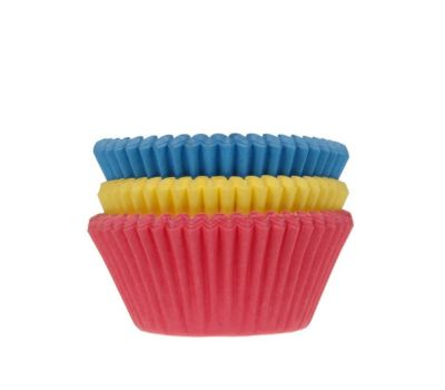 Rood/geel/blauw - Baking cups (75 st), fig. 2
