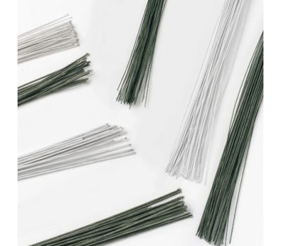Floral wire white 24 gauge set/50, fig. 1