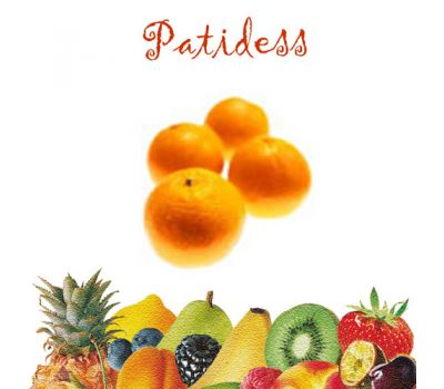 Patidess smaakstof Sinaasappel 120 gr, fig. 1