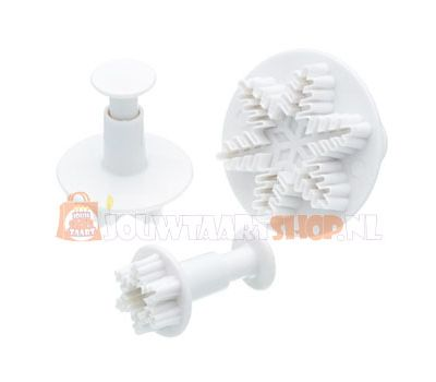 Sneeuwster plunger uitsteker set/3 - PME, fig. 1