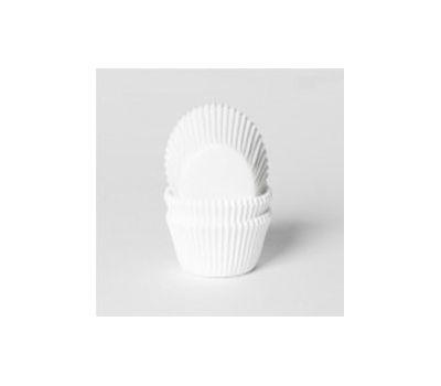 Effen wit mini - baking cups (60 st), fig. 1