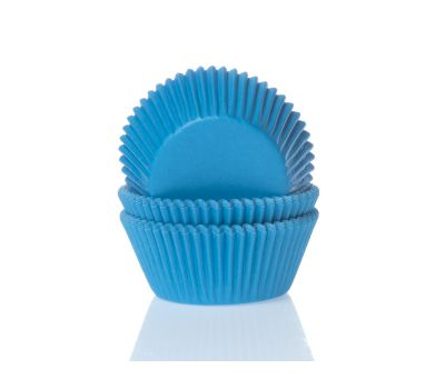 Effen blauw - baking cups (50 st), fig. 1
