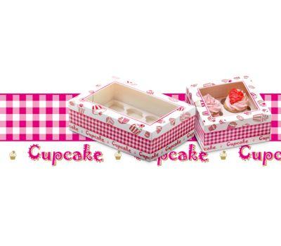 Cadeaudoos + insert geschikt voor 12 cupcakes, fig. 1