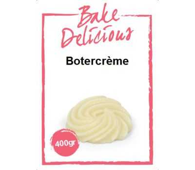 Mix voor Botercrème 400 gr - Bake Delicious, fig. 1