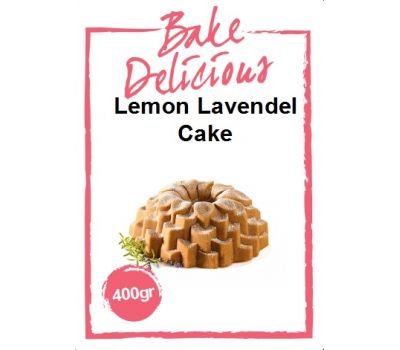 Mix voor Lemon lavendel cake 400 gr - Bake Delicious, fig. 1