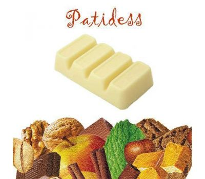Smaakstof Witte Chocolade 100 gr - Patidess, fig. 1