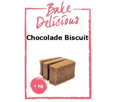 Mix voor Chocolade Biscuit 1 kg - Bake Delicious, fig. 1