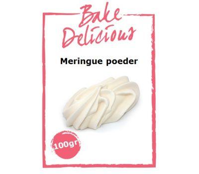 Meringue poeder 100 gr - Bake Delicious, fig. 1