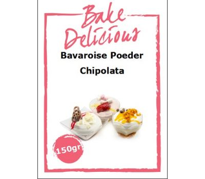 Bavaroise poeder Chipolata 150 gr - Bake Delicious, fig. 1