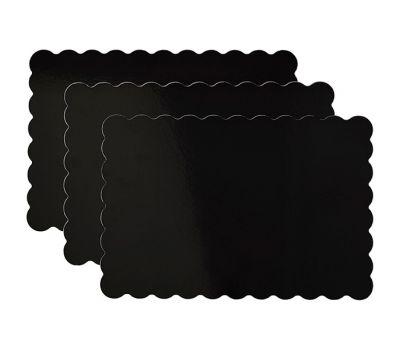 Zwart plateau karton 33 x 48 cm 3 st - Wilton, fig. 2
