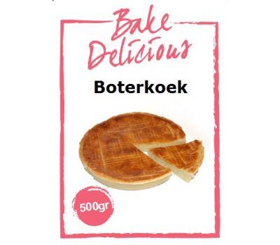 Mix voor Boterkoek 500 gr - Bake Delicious, fig. 1