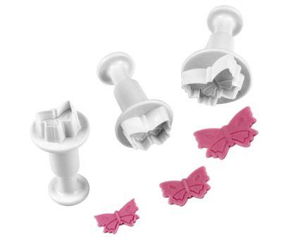 Mini vlinder plunger uitsteker set/3 - PME, fig. 1